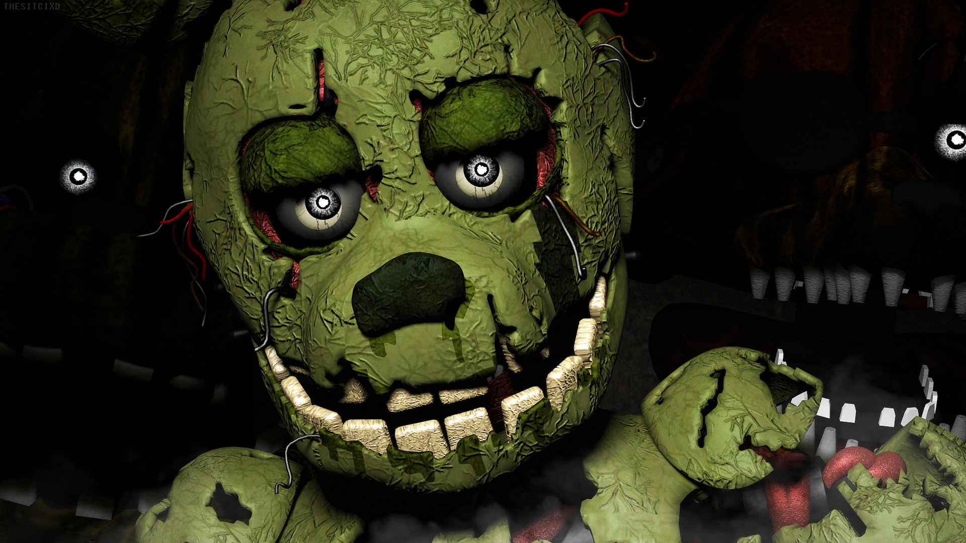 Five Nights At Freddy S 3 Hd Wallpaper Background Image