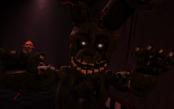 Video Game Five Nights at Freddy's 3 Five Nights at Freddy's Springtrap HD Wallpaper | Background Image