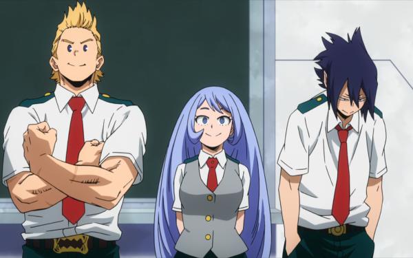 Anime My Hero Academia Mirio Togata Tamaki Amajiki Nejire Hado HD Wallpaper | Background Image