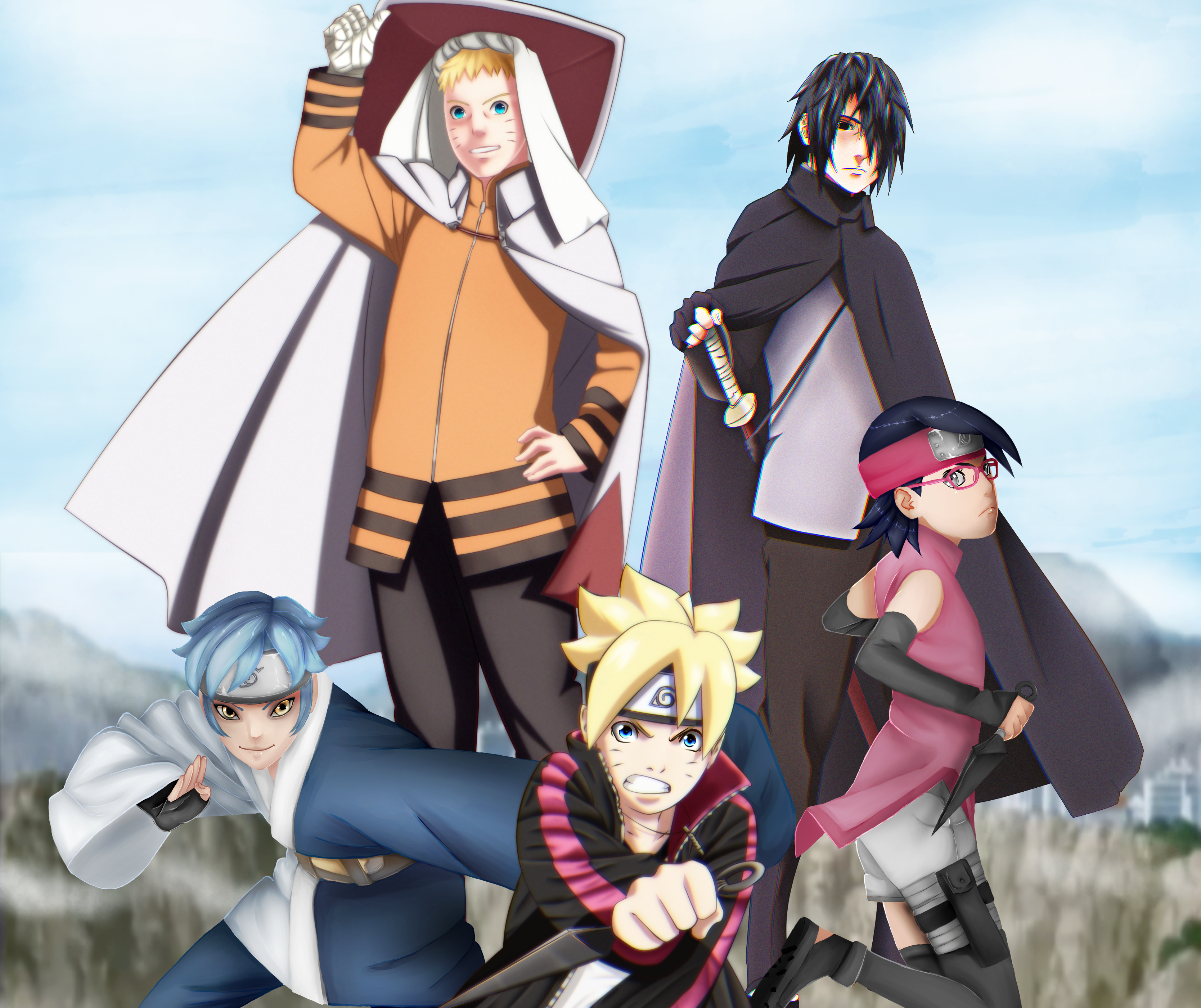 Boruto Naruto The Movie Hd Wallpaper Background Image 3336x2800 Id 954875 Wallpaper Abyss