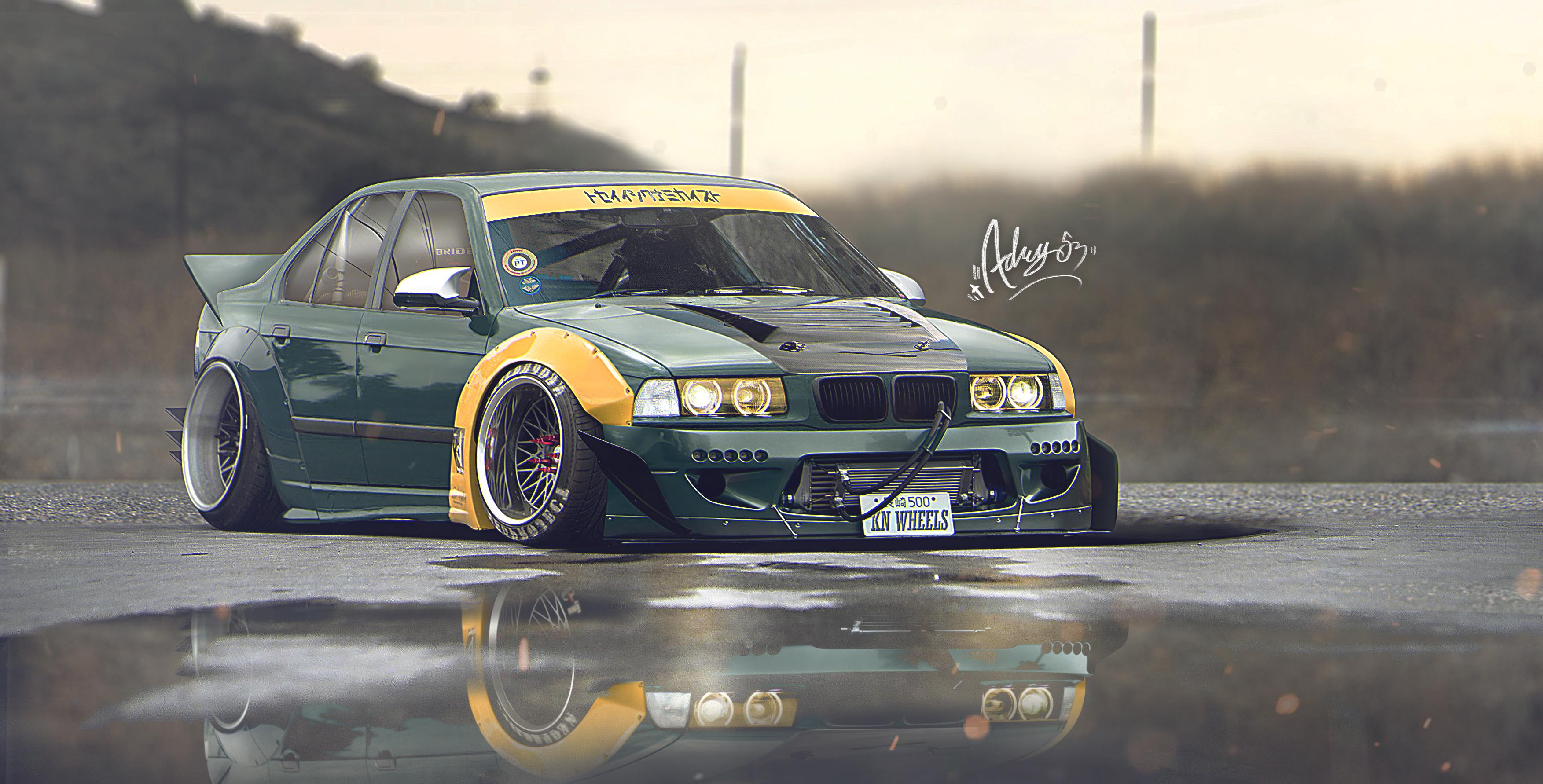 BMW 3 Series HD Wallpaper   Background Image   3506x1782 ...