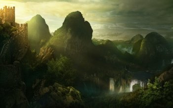 Fantasy - Landscape Wallpapers and Backgrounds ID : 95535