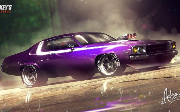 Véhicules Plymouth Road Runner Plymouth Purple Car Fond d'écran HD | Image