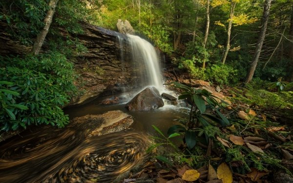 Earth Waterfall Waterfalls Nature HD Wallpaper   Background Image