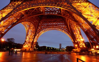 Man Made - Eiffel Tower Wallpapers and Backgrounds ID : 95965