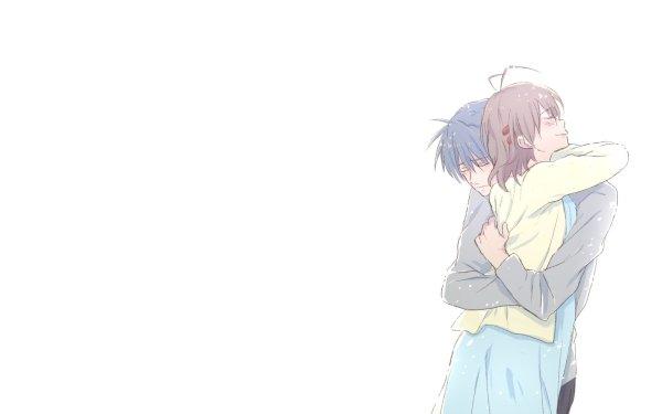 Anime Clannad Tomoya Okazaki Nagisa Furukawa HD Wallpaper   Background Image