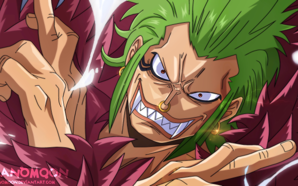 Anime One Piece Bartolomeo HD Wallpaper | Background Image