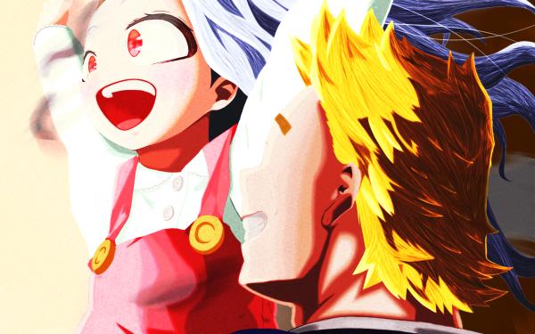 Anime My Hero Academia Eri Mirio Togata HD Wallpaper | Background Image