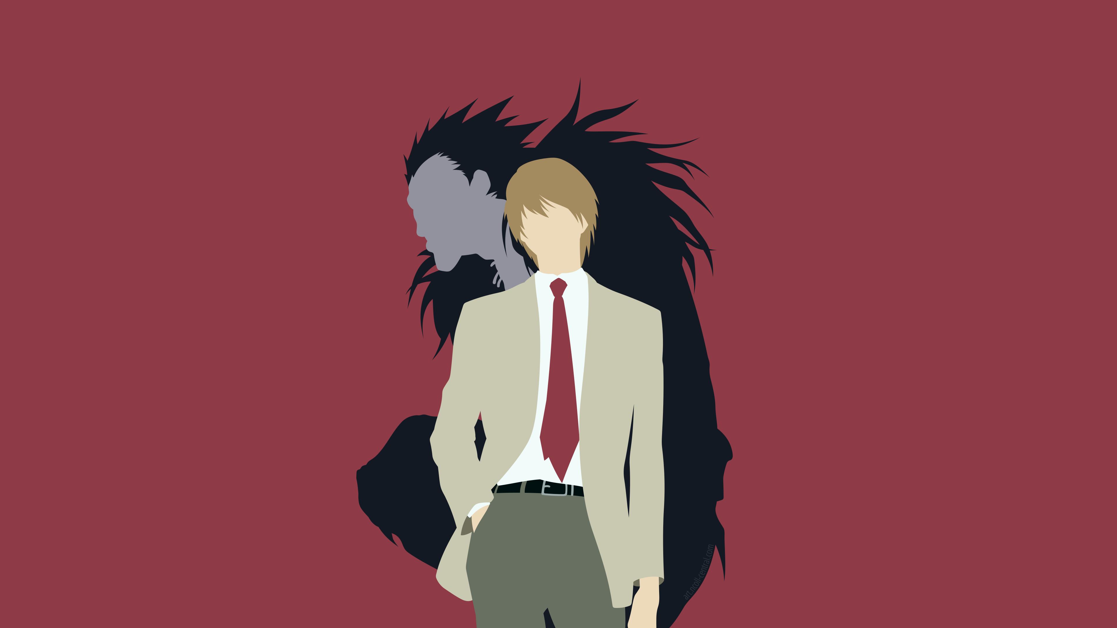 Death Note 4k Ultra Hd Wallpaper Hintergrund 3840x2160