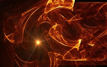 Abstrakt - Orange Wallpapers and Backgrounds ID : 96129