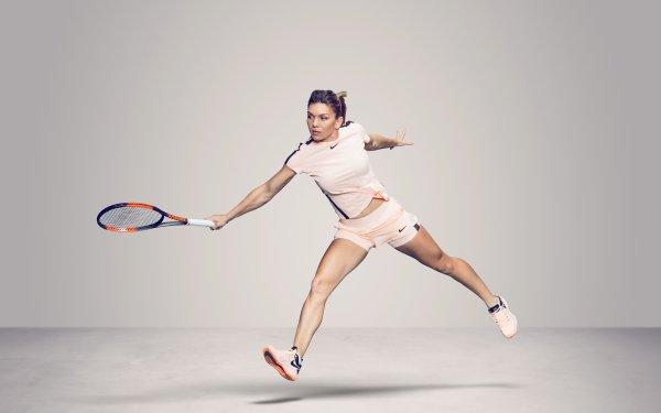 Sports Simona Halep Tennis Romanian HD Wallpaper | Background Image