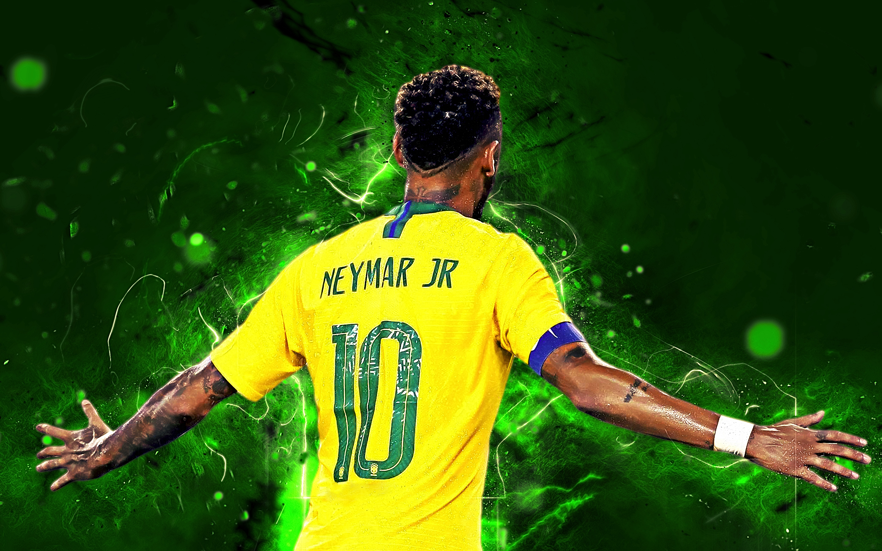 Neymar Jr - Brazil HD Wallpaper | Background Image ...