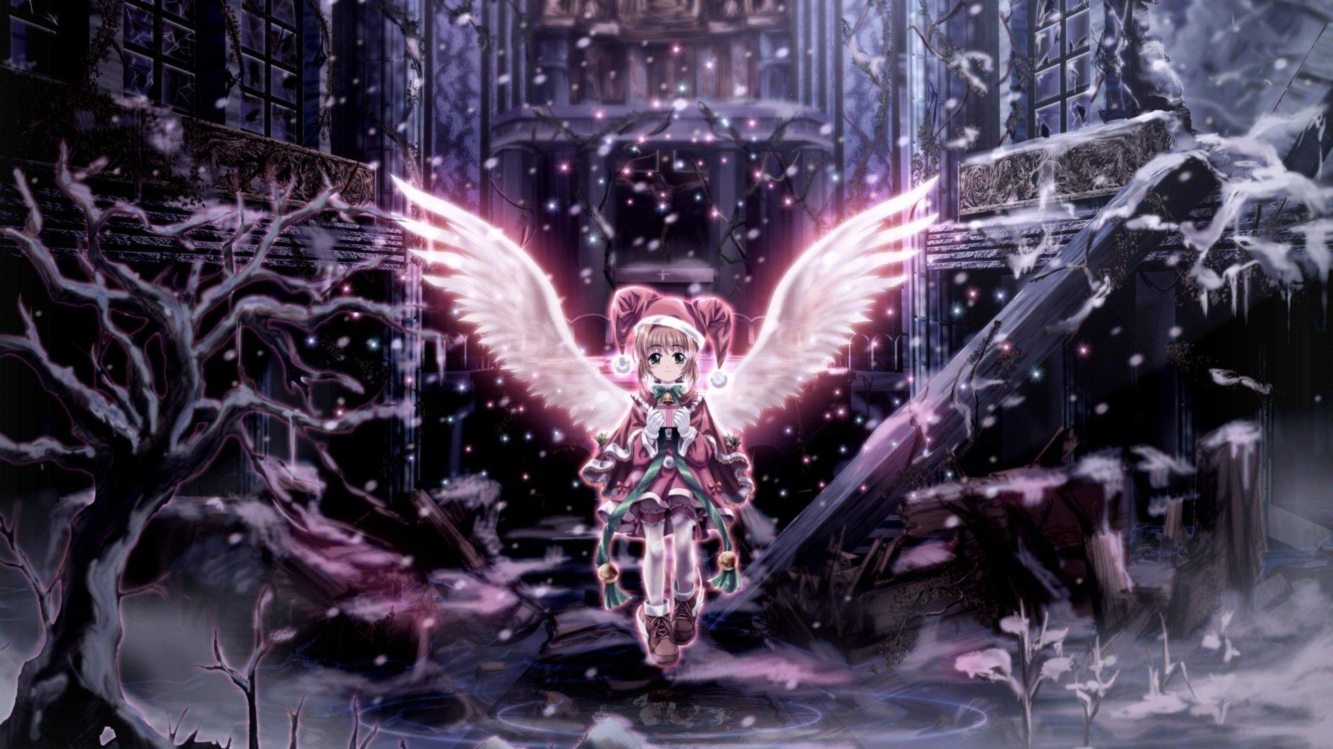 Anime - Cardcaptor Sakura  Angel Wallpaper
