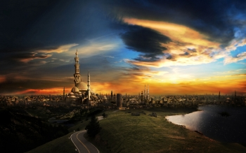 CGI - City Wallpapers and Backgrounds ID : 96259