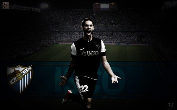 Sports Isco Soccer Player Spanish Malaga HD Wallpaper | Background Image
