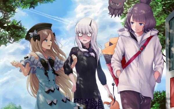 Anime Fate/Grand Order Fate Series Lavinia Whateley Foreigner Katsushika Hokusai Abigail Williams HD Wallpaper   Background Image