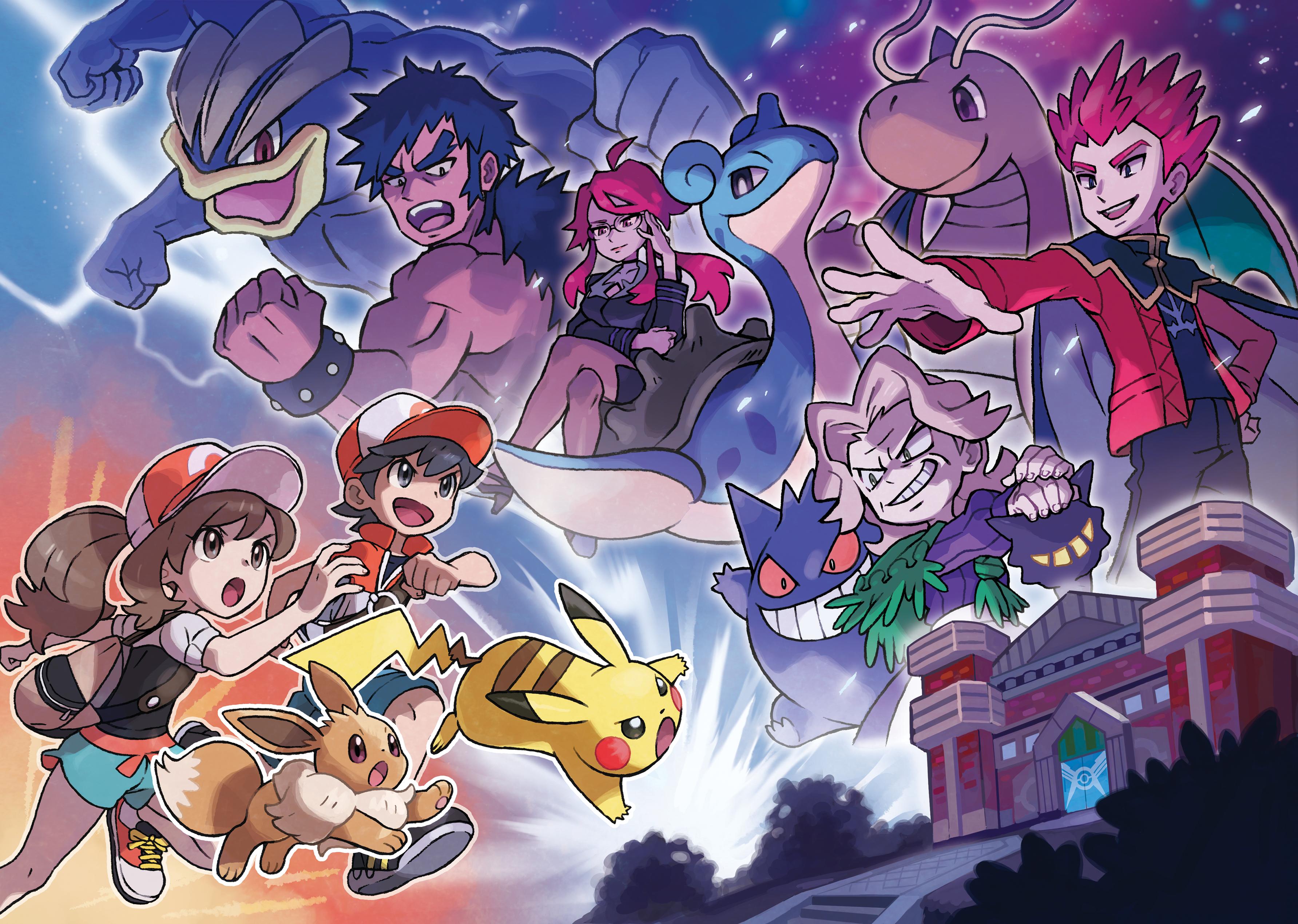 Pokemon Let S Go Elite Four Hd Wallpaper Background Image