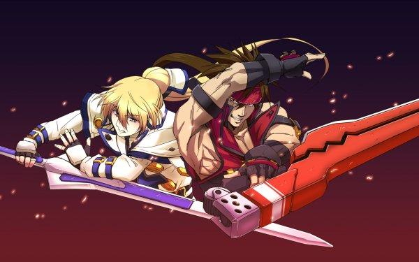 Video Game Guilty Gear Xrd -SIGN- Guilty Gear Ky Kiske Sol Badguy HD Wallpaper | Background Image