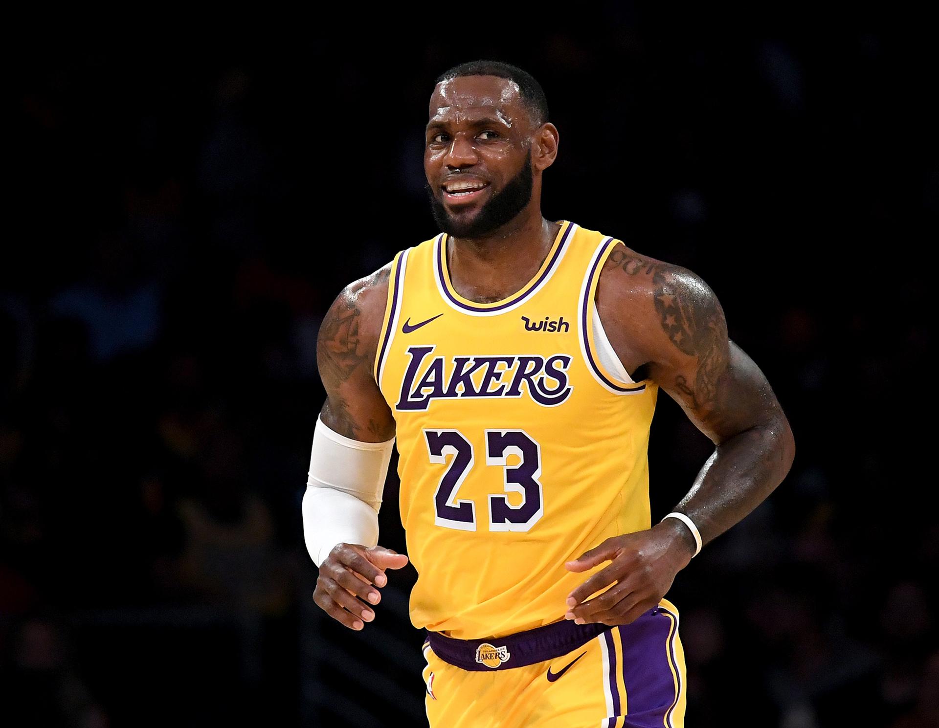 LeBron James - Los Angeles Lakers HD