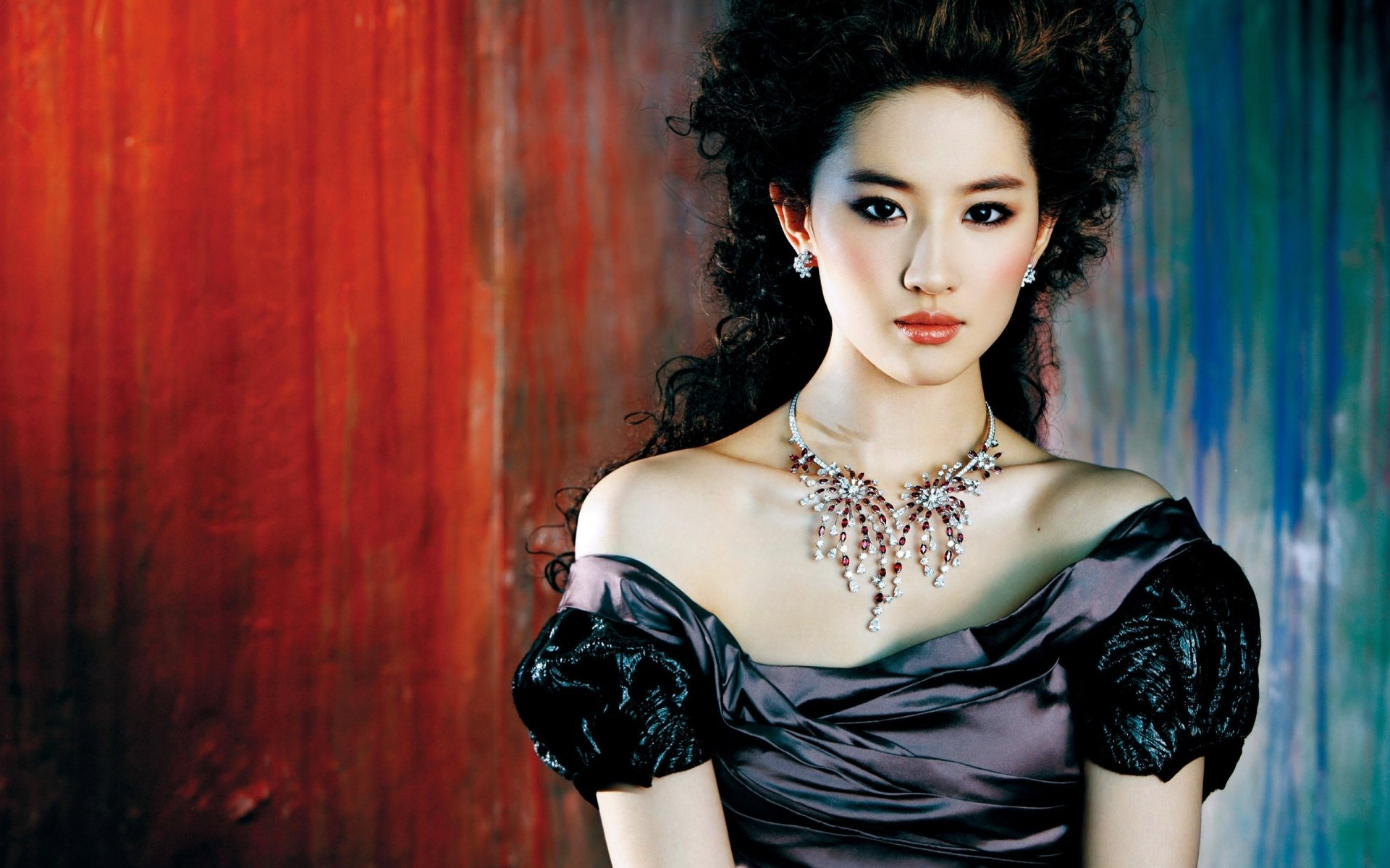 Women - Pretty  Liu Yifei Wallpaper