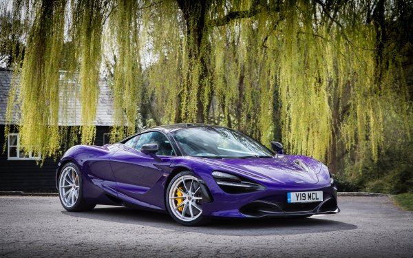 Véhicules McLaren 720S McLaren Voiture Purple Car Sport Car Supercar Fond d'écran HD | Image