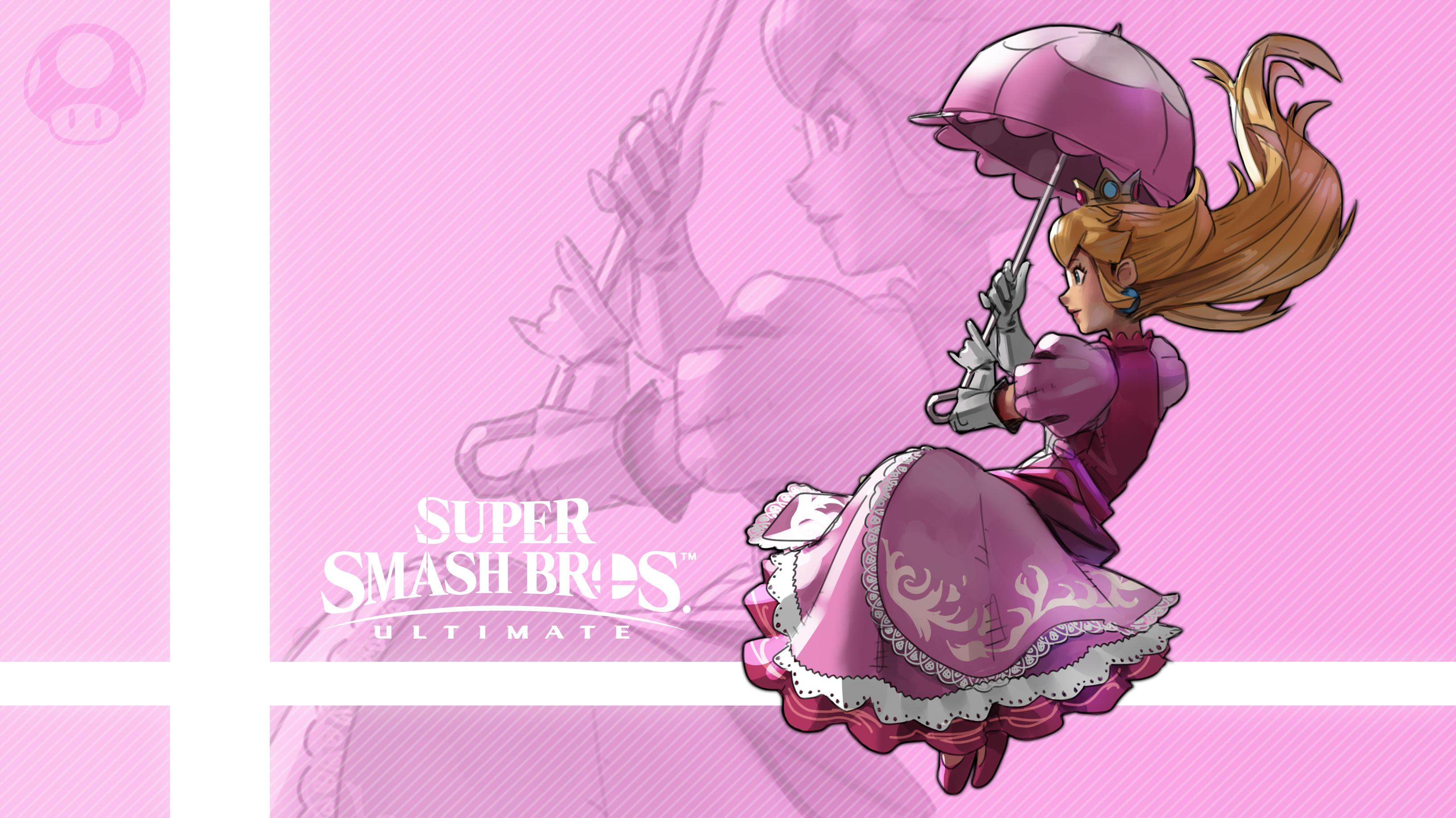 Peach In Super Smash Bros. Ultimate HD Wallpaper ...