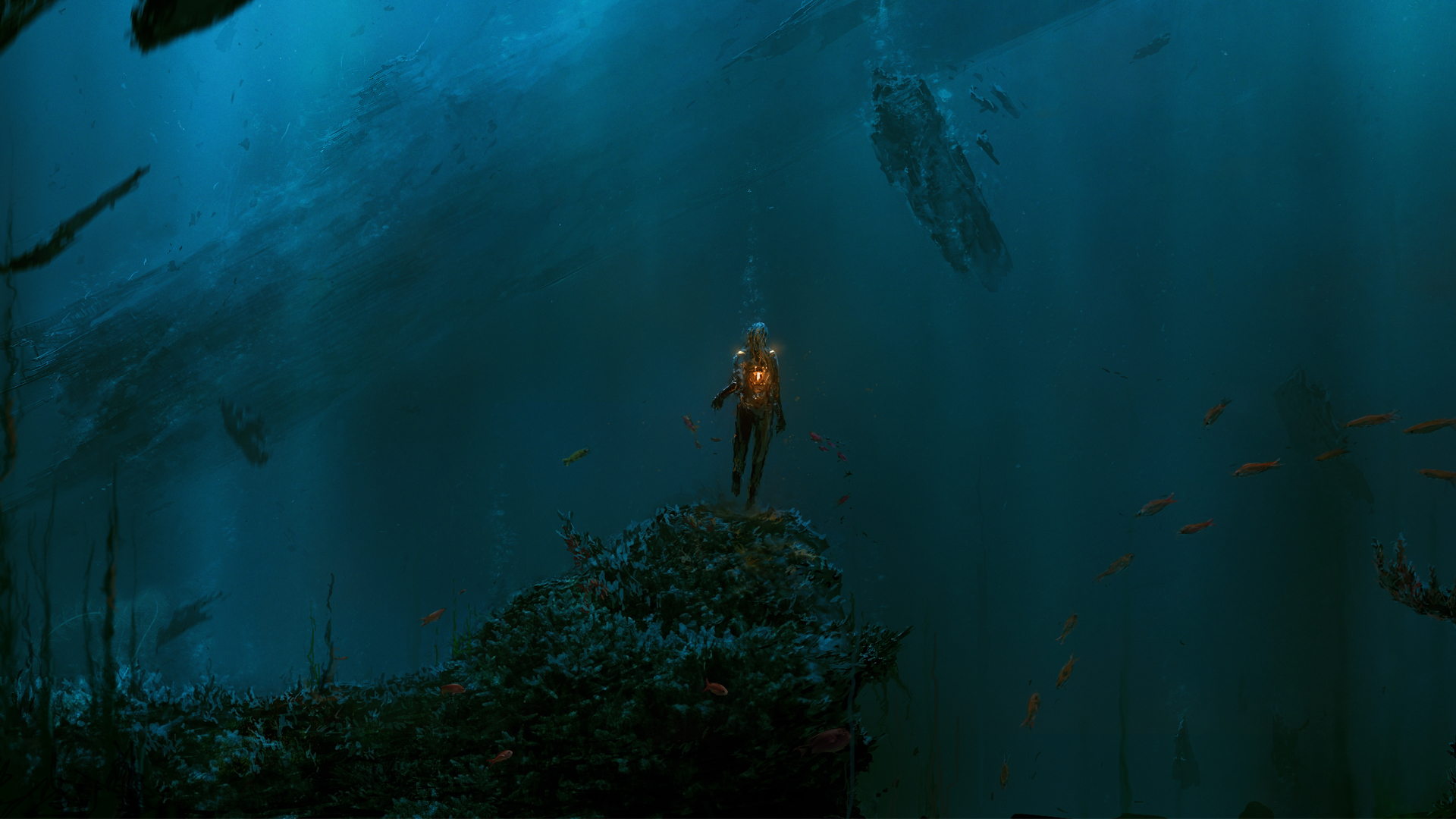 Fantasy - Creature  - Underwater Wallpaper