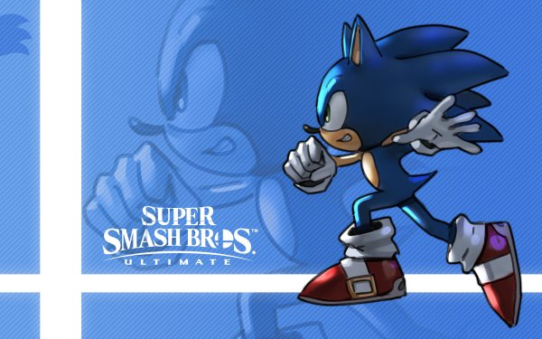 Video Game Super Smash Bros. Ultimate Sonic the Hedgehog HD Wallpaper | Background Image