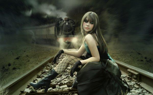Dark Emo Train Suicide HD Wallpaper | Background Image