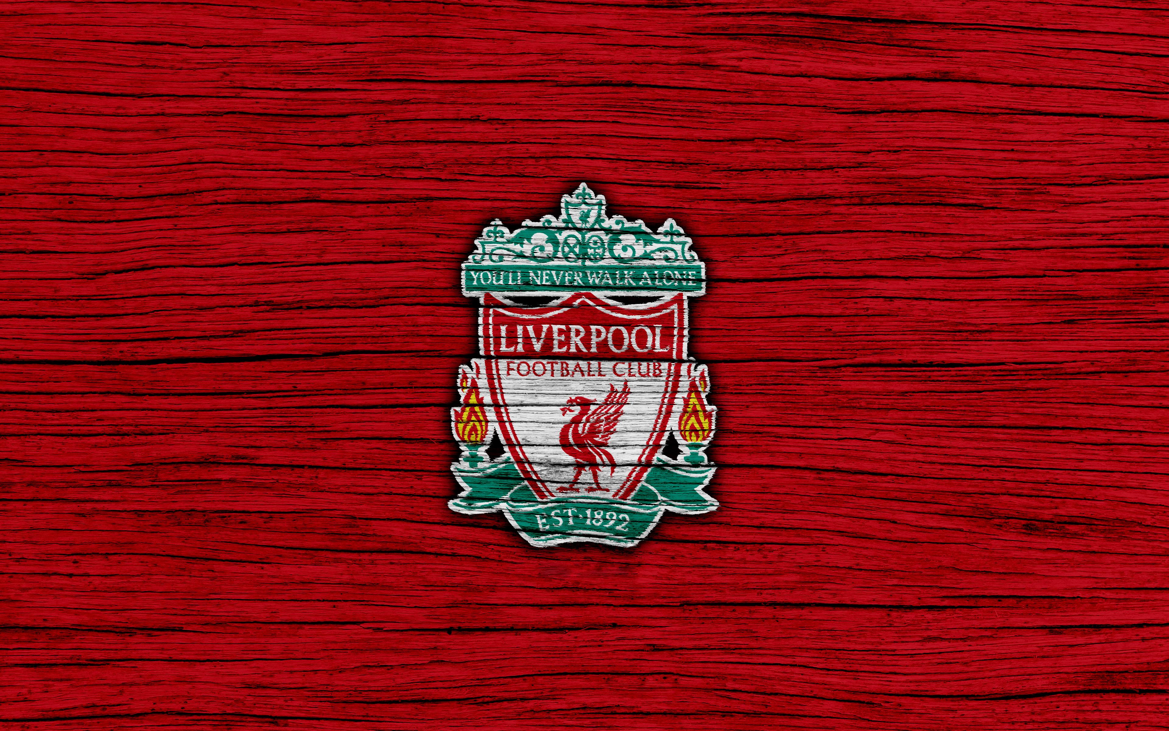 Liverpool FC Crest Wallpaper Border Football
