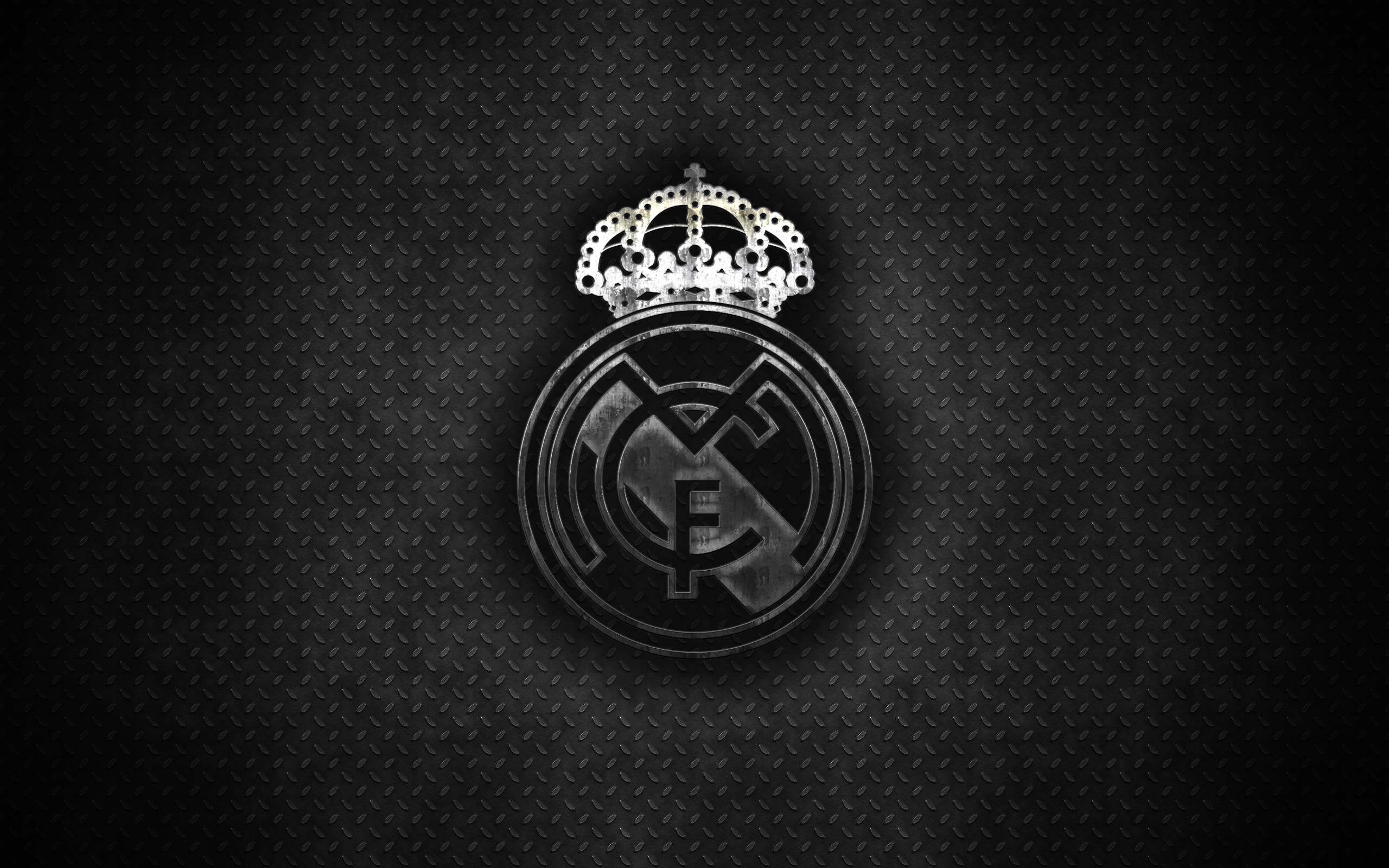 Real Madrid Logo Hd Wallpaper Background Image 2560x1600 Id 969486 Wallpaper Abyss