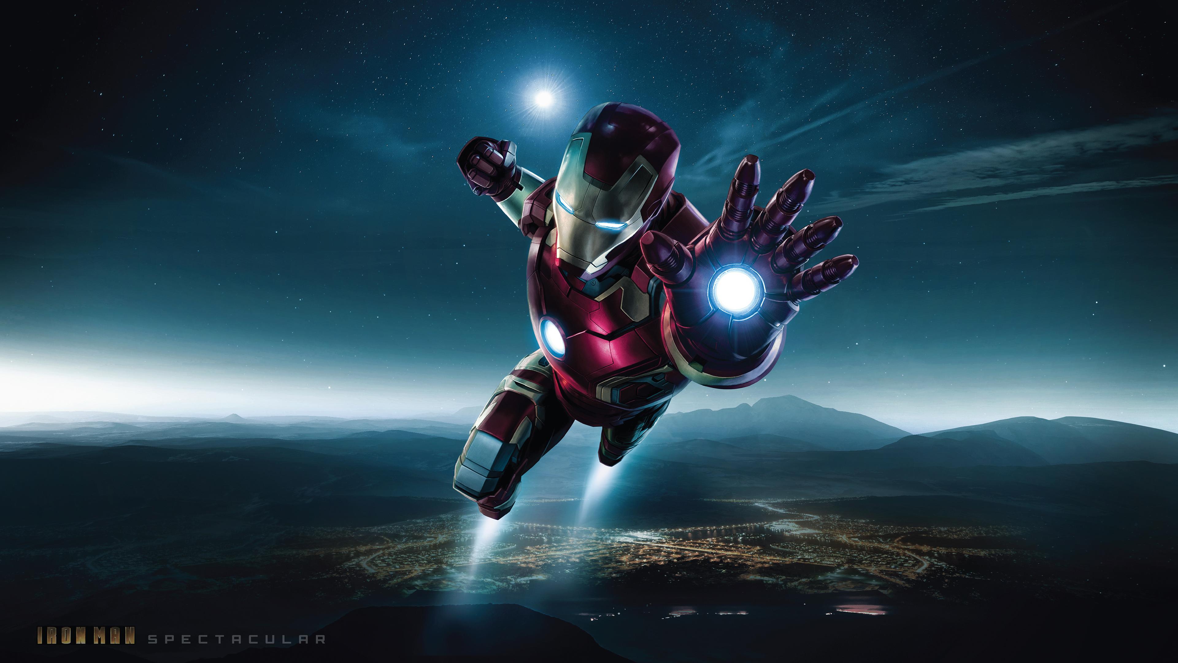 Iron man 4k ultra hd wallpaper background image for Sfondi iron man