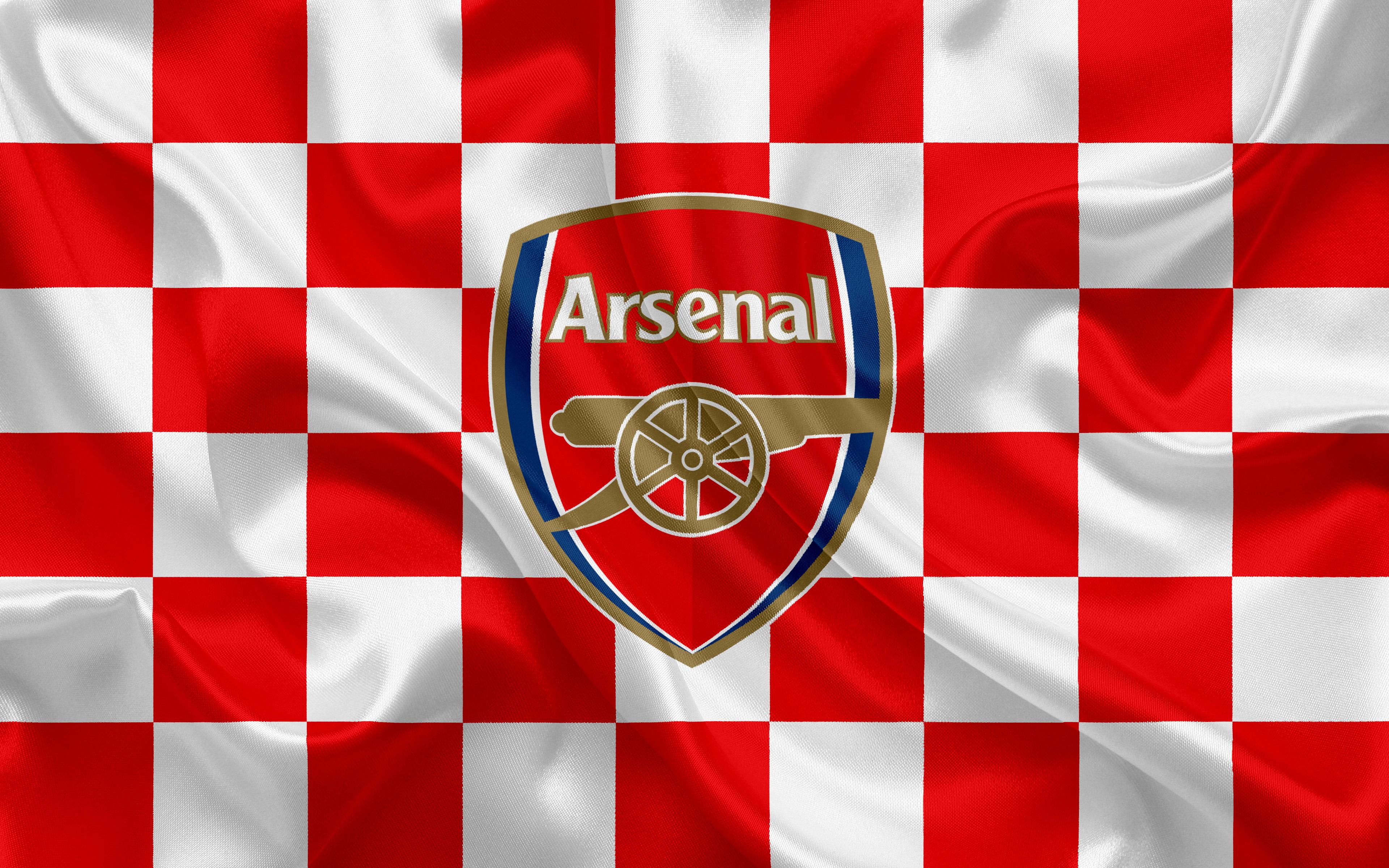 Arsenal Logo 4k Ultra HD Wallpaper   Achtergrond ...