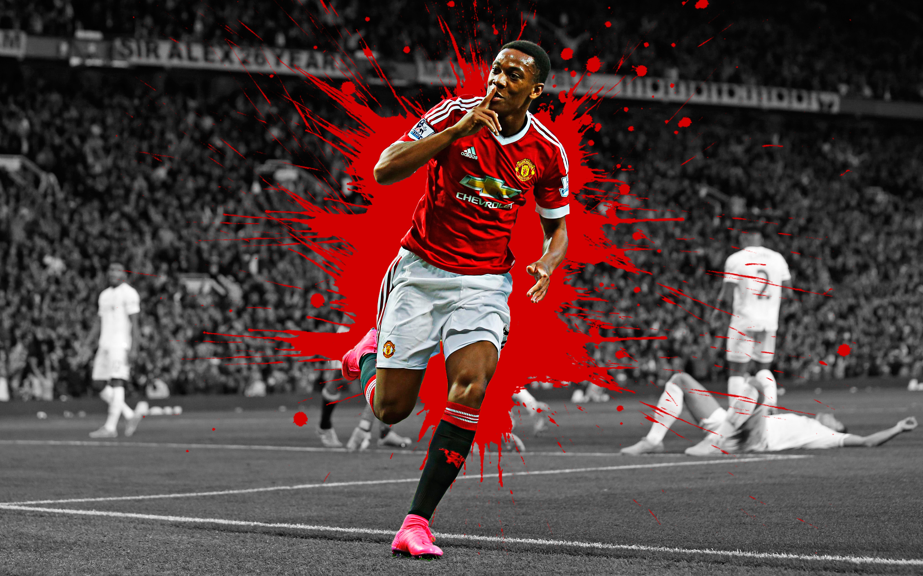 f7775c16c Anthony Joran Martial - Manchester United 4k Ultra HD Wallpaper ...