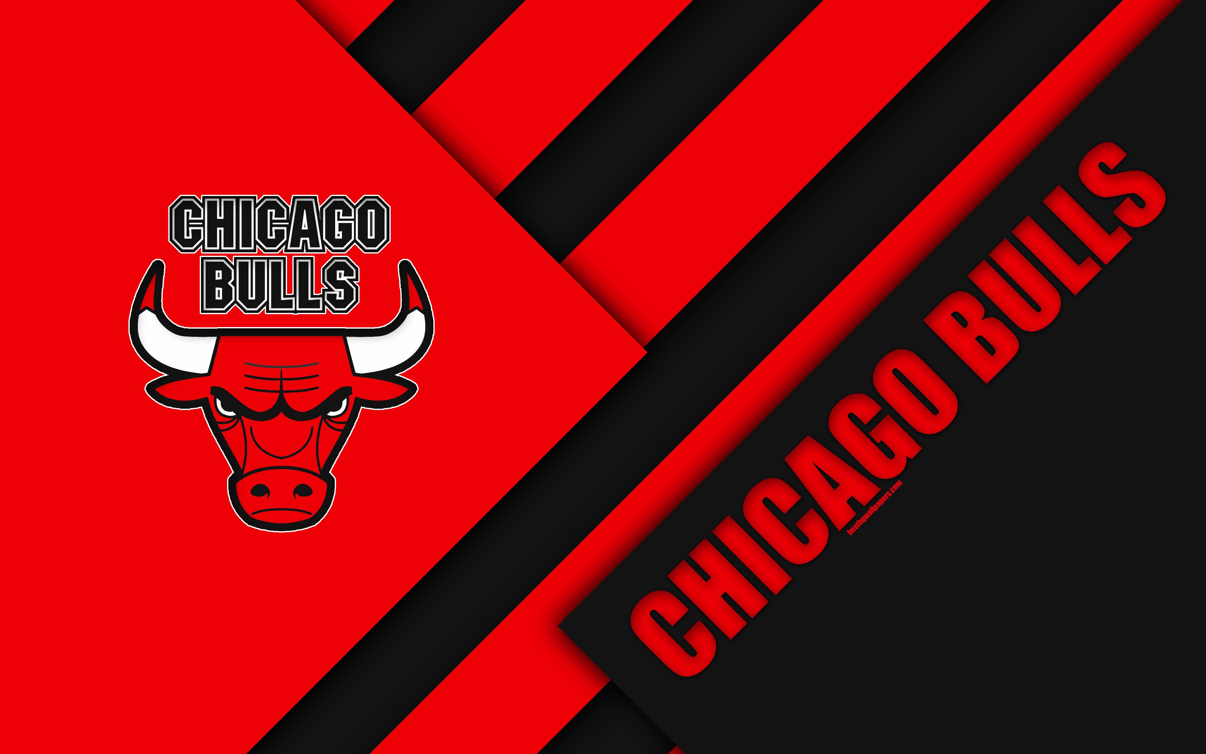 Chicago Bulls Logo 4k Ultra Fondo De Pantalla Hd Fondo De