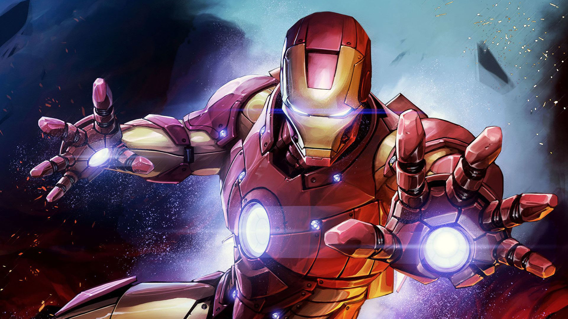 Iron Man Hd Wallpaper Hintergrund 1920x1080 Id971656