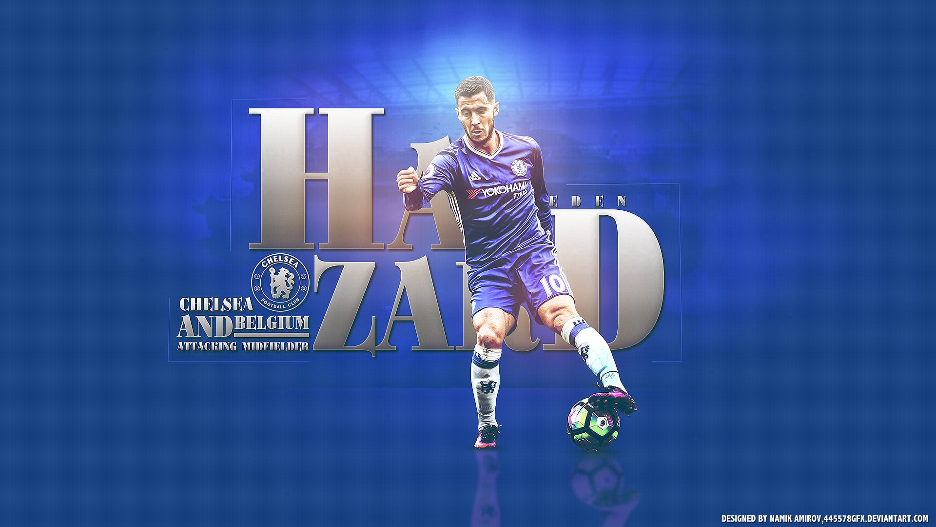 Eden Hazard Chelsea HD Wallpaper