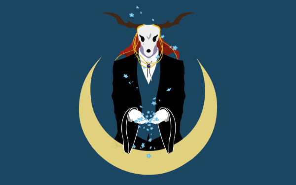 Anime The Ancient Magus' Bride Elias Ainsworth HD Wallpaper | Background Image