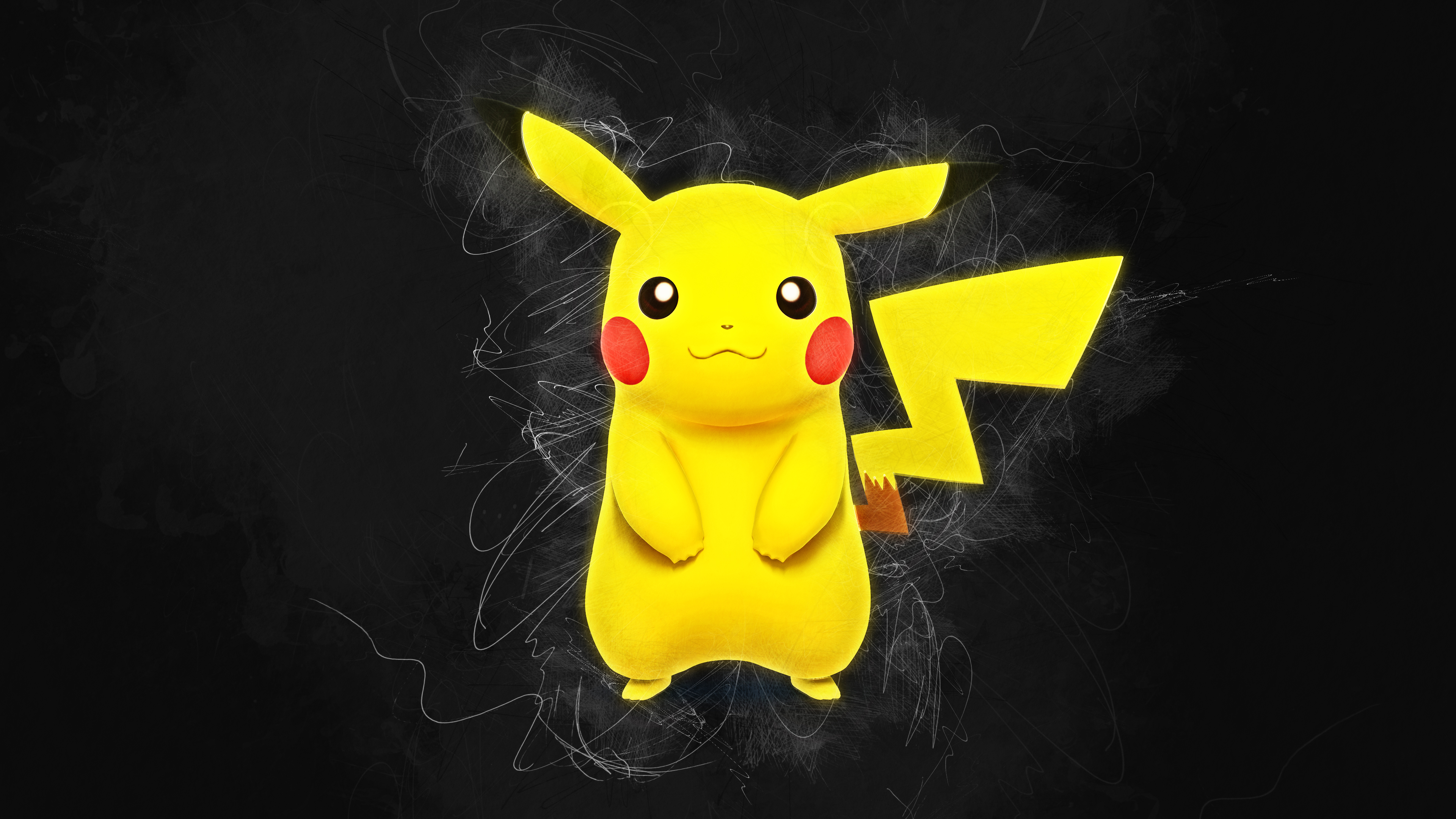 Pikachu 4k Ultra HD Wallpaper   Background Image ...