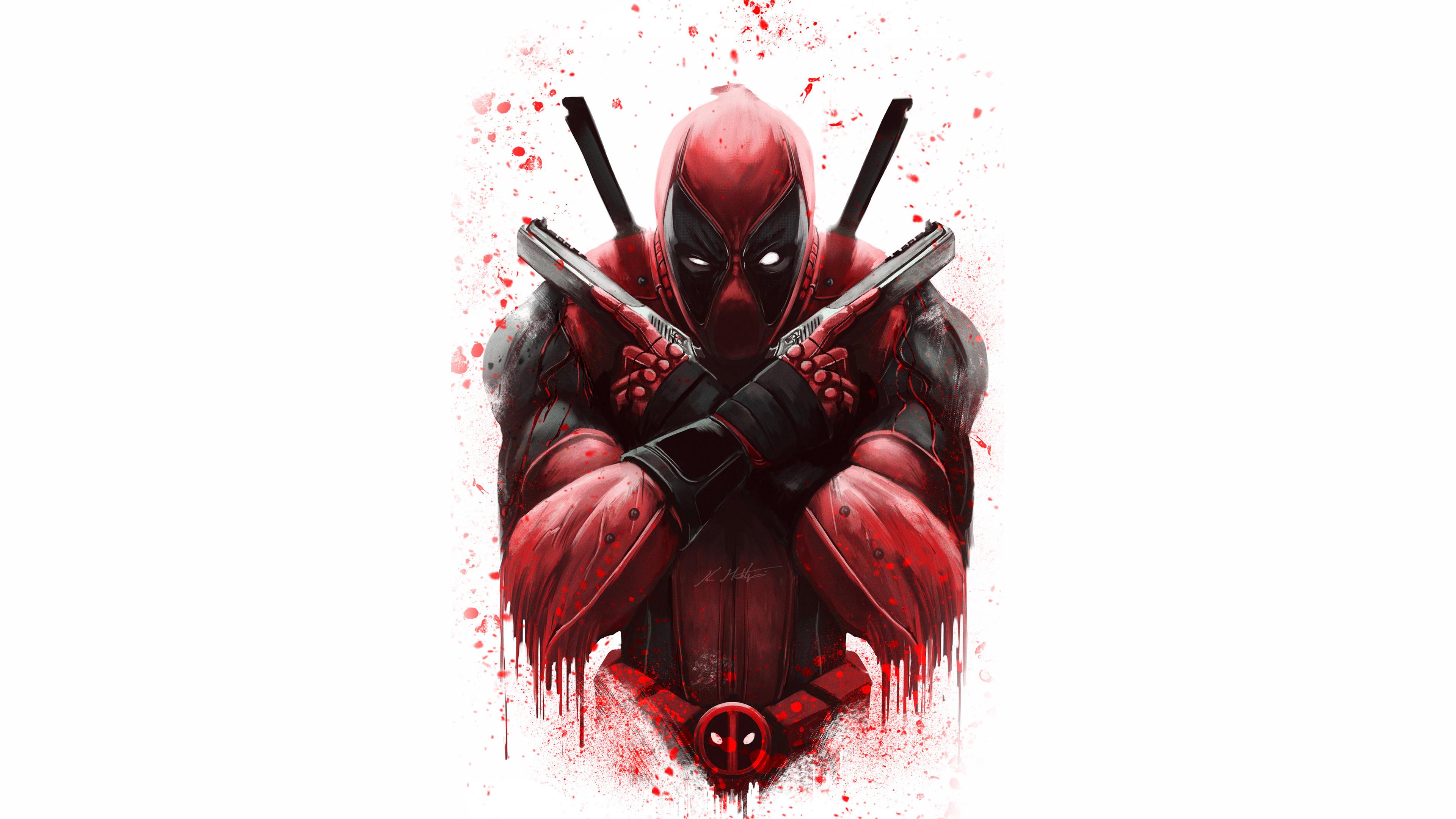 Deadpool 4k Ultra Hd Wallpaper Background Image 3840x2160 Id 974247 Wallpaper Abyss