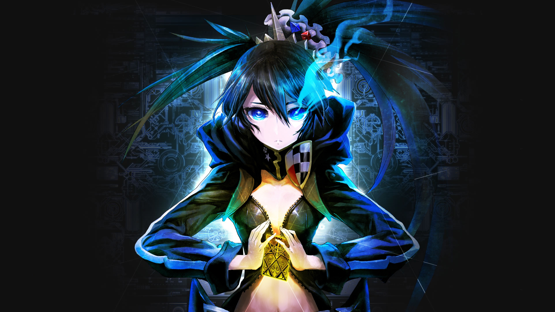 Black Rock Shooter Hd Wallpaper Background Image 1920x1080