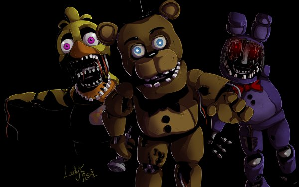 Video Game Five Nights At Freddy's 2 Five Nights at Freddy's Withered Freddy Withered Bonnie Withered Chica HD Wallpaper | Background Image