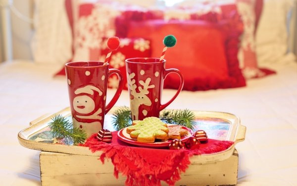 Food Cookie Christmas Snack HD Wallpaper | Background Image