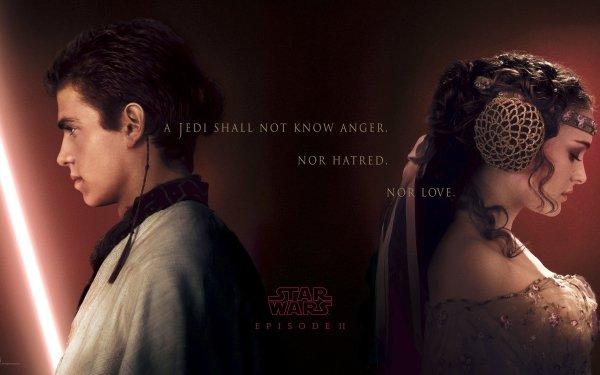 Movie Star Wars Episode II: Attack Of The Clones Star Wars Anakin Skywalker Padmé Amidala Natalie Portman Hayden Christensen HD Wallpaper | Background Image