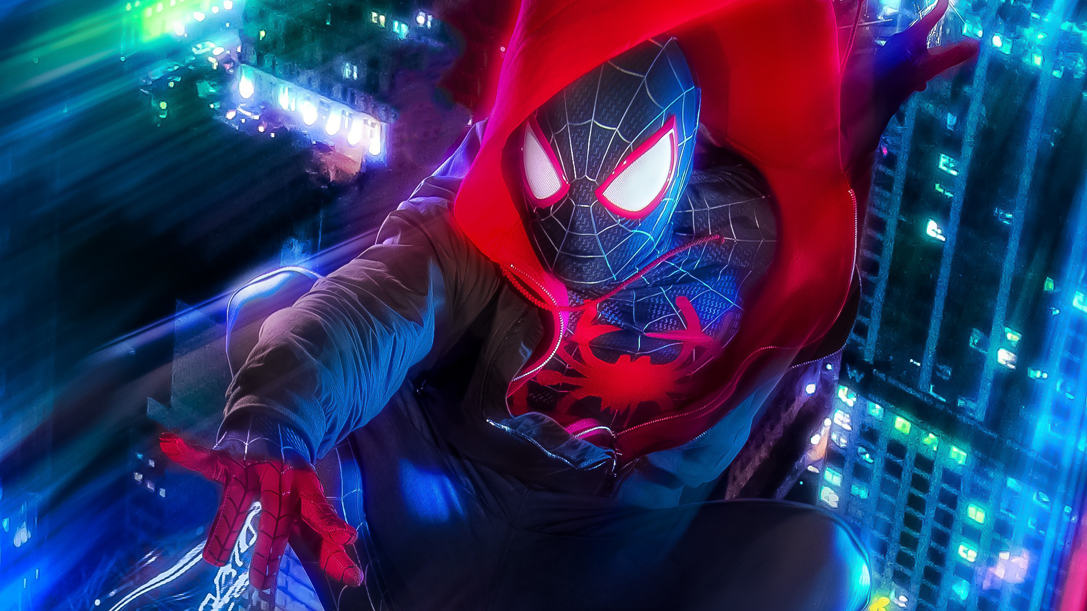 Spider Man Hd Wallpaper Background Image 2122x1194 Id 977079