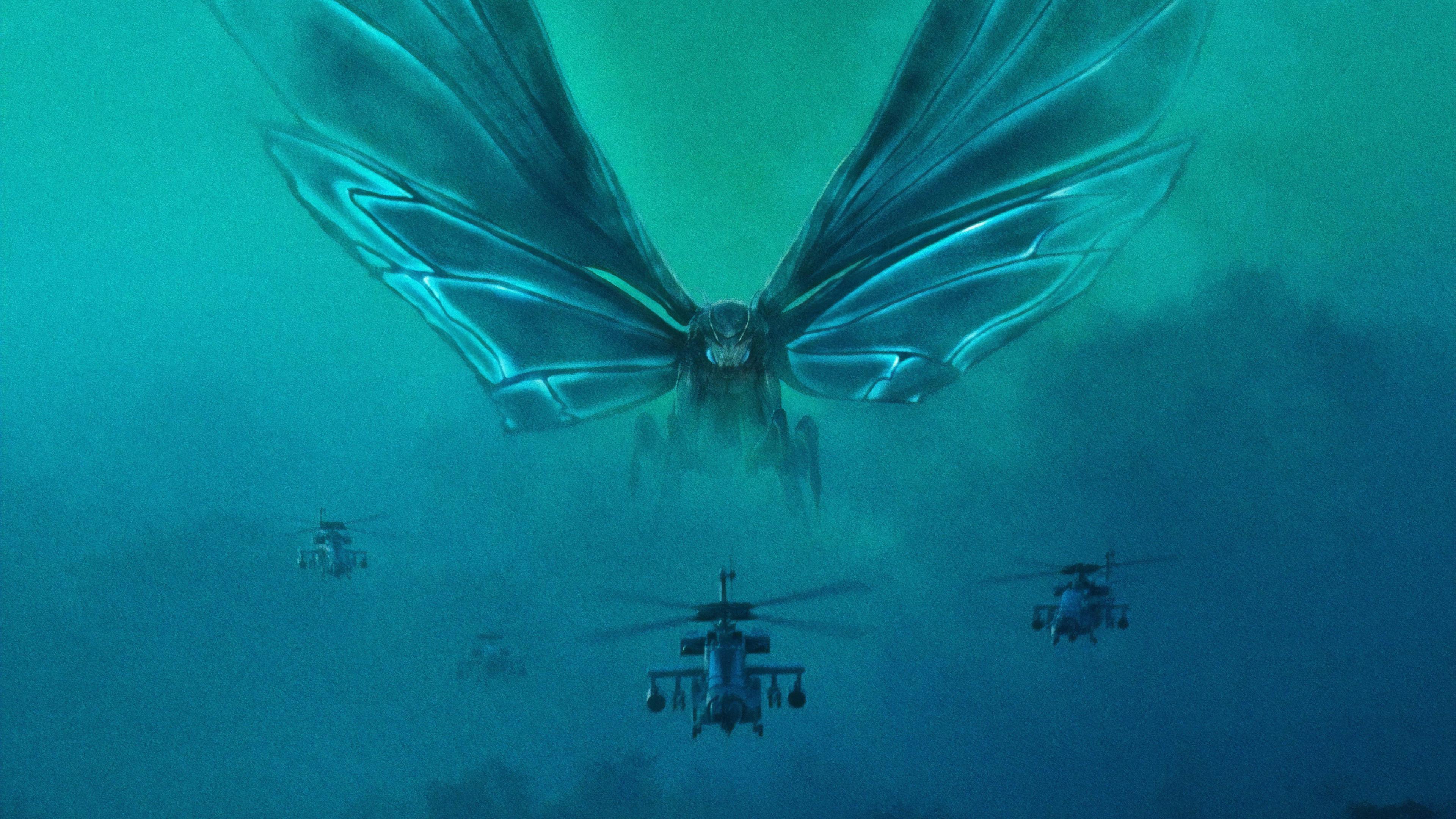 Godzilla King Of The Monsters 4k Ultra Hd Wallpaper Background