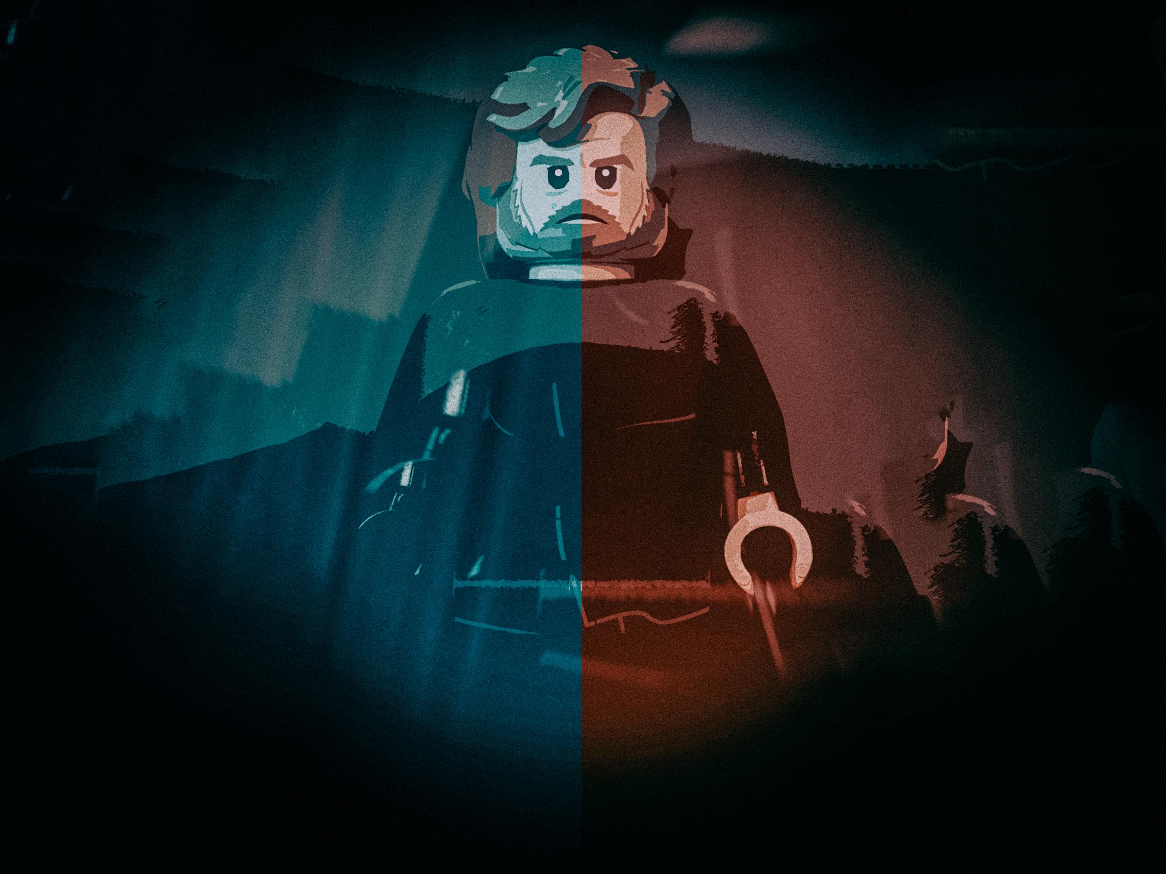 Lego Star Wars Luke Skywalker Hd Wallpaper Background Image