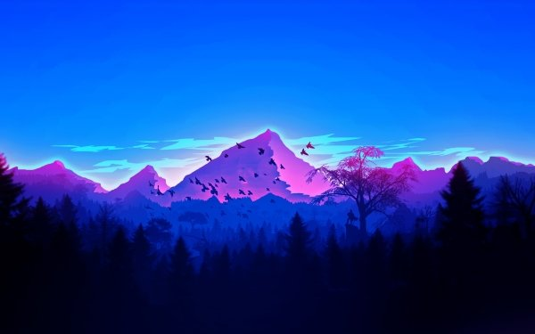 Artistic Mountain HD Wallpaper | Background Image