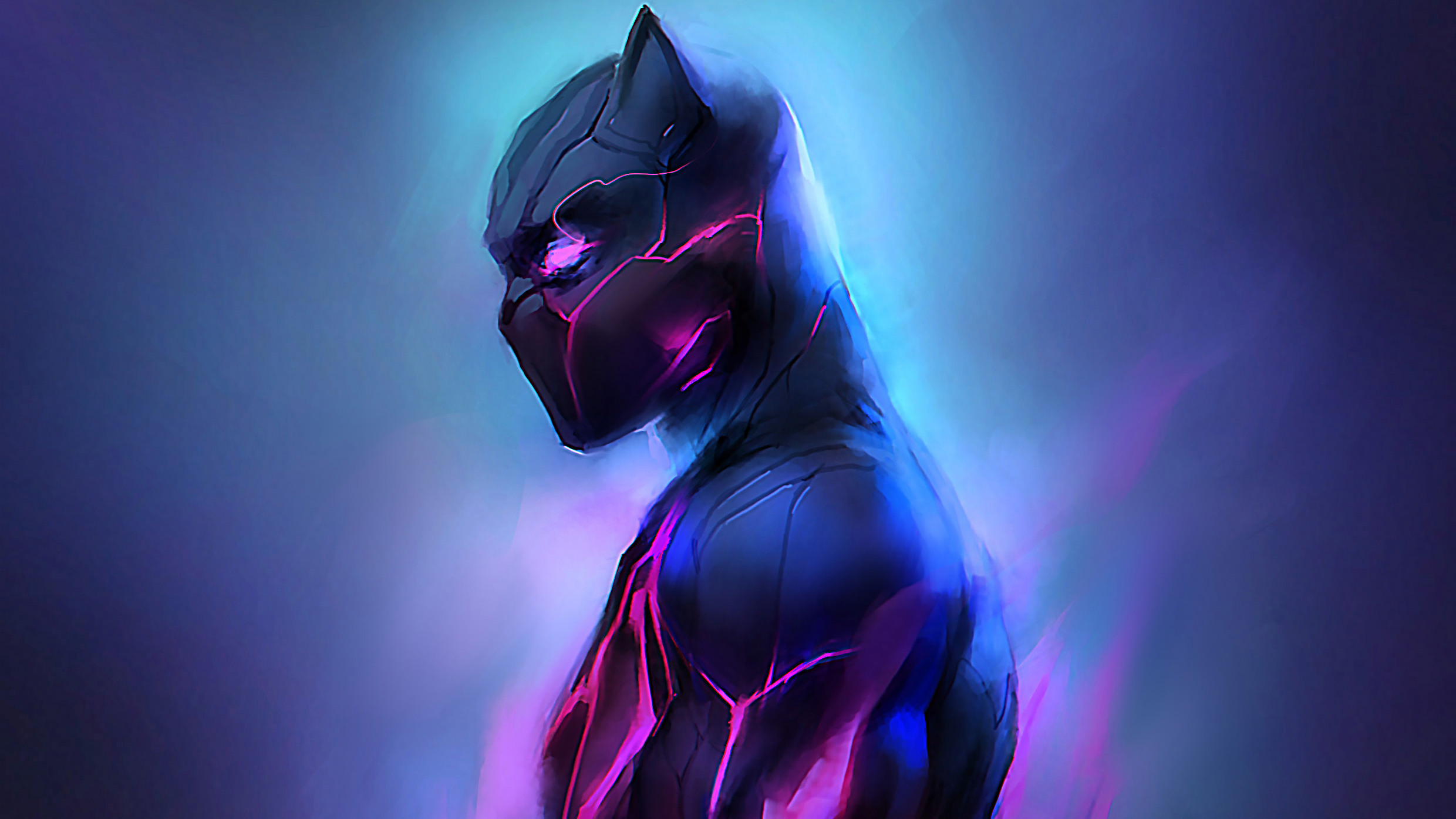 Black Panther Hd Wallpaper Background Image 2480x1395