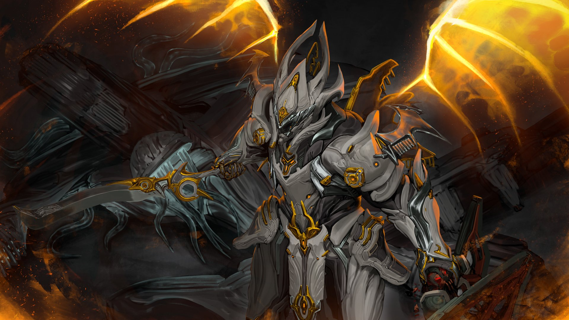 Sentient Slayer Chroma Prime Hd Wallpaper Background Image